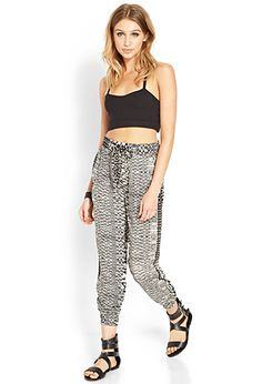 Tribal Print Joggers   FOREVER21 - 2000124693
