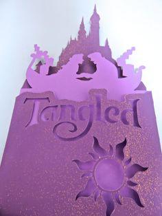 Tangled Folded Card  Original handmade by thedaydreamprincess, $8.50
