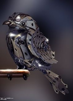 Steampunk Bird, coolest I've seen yet!
