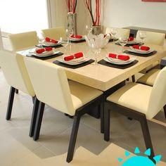 134 mejores imágenes de Mí Comedor | Dining rooms, Diner table y ...