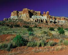 Dowa Yalanne Sacred Mesa Near Zuni Pueblo, New Mexico