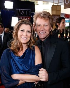 Jon Bon Jovi and his wife Dorothea