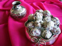 White Chocolate Cranberry Balls