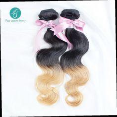 92.64$  Buy here - http://alixo4.worldwells.pw/go.php?t=1868053399 - Ombre Brazilian Hair #613 Brazilian Ombre Hair Extensions Ombre Brazilian Body Wave 2PCS/Lot Free Shipping Brazilian Virgin Hair
