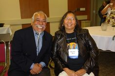 "We honor Tillie Black Bear - who is on her walk - and will be missed:  Tillie Black Bear is pictured on Sept. 23, 2008 in Marquette, MI with Dr. José Cuellar of La Raza Studies at San Francisco State University, who spoke on ""The Four Enemies of Diversity.""  Black Bear and Dr. Cuellar were both featured speakers at the 2008 UNITED Conference at Northern Michigan University. http://i417.photobucket.com/albums/pp260/TurtleIslandProject/TillieBlackBearNMUUnited9-23-08033.jpg"