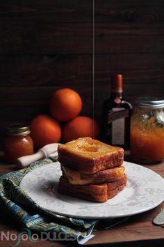 ¿Has probado las torrijas rellenas? Te doy la receta de estas de cointreau y mermelada de naranja casera para Semana Santa ¡Sorprende a todos!