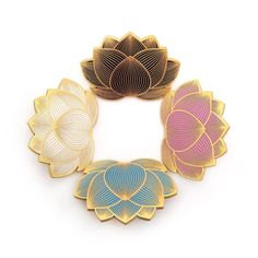 Our Lotus Flower pins are marked down by $2 today. ✨These singles and sets make a perfect stocking stuffer!