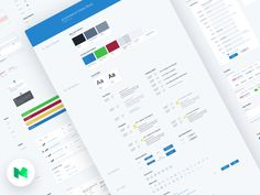 UI Style Guide for E-commerce Site by Ron Evgeniy