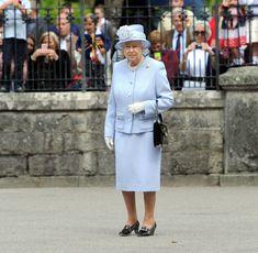 Queen Elizabeth II Photos Photos - Queen Elizabeth II Visits Balmoral Castle - Zimbio