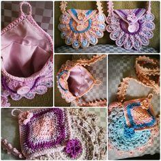 Schattige meisjestasjes gemaakt, patroon van Haken en Kralen