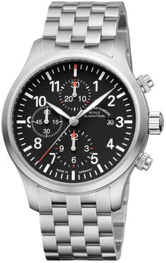Muhle Glashutte Watch Terrasport I Chronograph #bezel-fixed #bracelet-strap-steel #brand-muhle-glashutte #case-depth-13-6mm #case-material-steel #case-width-44mm #chronograph-yes #date-yes #delivery-timescale-call-us #dial-colour-black #gender-mens #movement-automatic #official-stockist-for-muhle-glashutte-watches #packaging-muhle-glashutte-watch-packaging #sku-mgl-074 #subcat-terrasport #supplier-model-no-m1-37-74-mb #warranty-muhle-glashutte-official-2-year-guarantee #water-resistant-50m