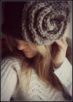 Rose hat.