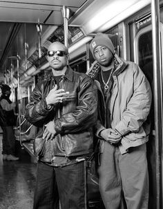 Gang Starr | NYC 1994 | Photo by Chi Modu