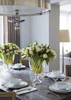 Tablescape ● Floral Centerpiece Ideas