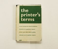 the printers's terms