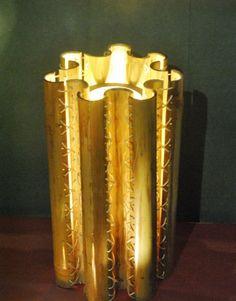 Bamboo Floor Lamp by Lakshmi Shewale at Coroflot.com