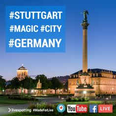 Magic City, Live Stream, Cn Tower, Youtube, Germany, Facebook, Twitter, Building, Travel