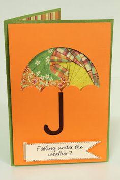 Umbrella iris folding, from The Paper Boutique