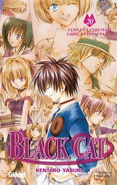 black cat manga 20 | titre vo black cat titre traduit black cat dessin yabuki