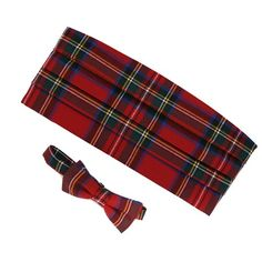 Tie and cumberbun tartan $70