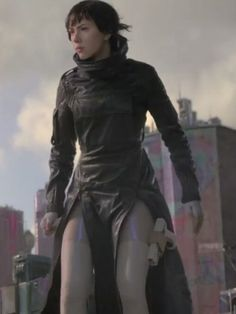 Ghost In The Shell: Major's tactical long coat (seen on the beginning and end scenes)