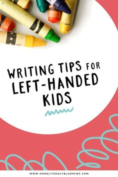 Easy Writing, Writing Tips, Literacy Activities, Activities For Kids, Differentiation In The Classroom, Differentiated Instruction, Grand Kids, Left Handed, Early Learning