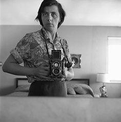 Vivian Maier: Self portrait c.1960