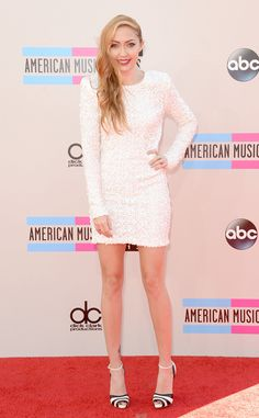 Brandi Cyrus from 2013 American Music Awards-Red Carpet Arrivals