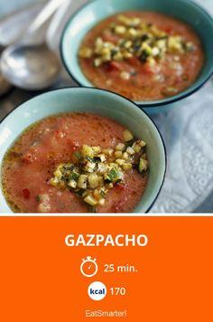 Gazpacho - smarter - Kalorien: 170 Kcal - Zeit: 25 Min. | eatsmarter.de