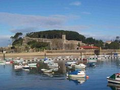 Baiona, Spain.  Was a few minutes drive from our apartment...