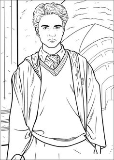 Harry Potter Coloring page  Coloring pages and Printables