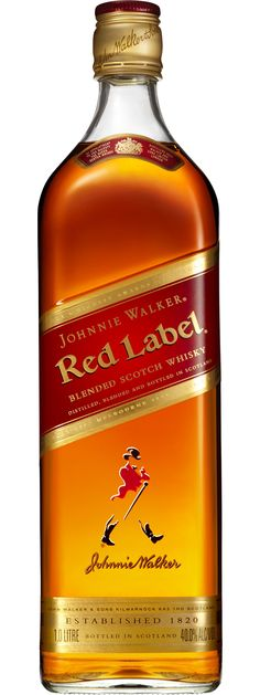 Johnnie Walker Red Label Scotch Whisky 1L (Scotland) - $44.90