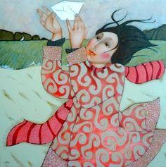 Cecile Veilhan | Arte / Educação: Cécile Veilhan....me getting a letter from Cinnamon Girl :-)