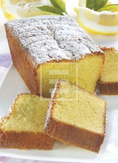 Plum cache al limone Lemon Recipes, Baking Recipes, Cake Recipes, Almond Paste Cookies, Sweet Cooking, Plum Cake, Yogurt Cake, Muffins, Bread Cake