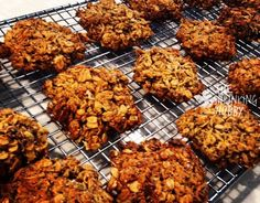 The Shrinking Hubby's Healthy Anzac Bickies