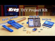 DIY Project Kit from Kreg - the must have kit for any DIY enthusiast! Exclusive January Offer: Only $79! (reguarly priced $99) plus FREE SHIPPING!!!