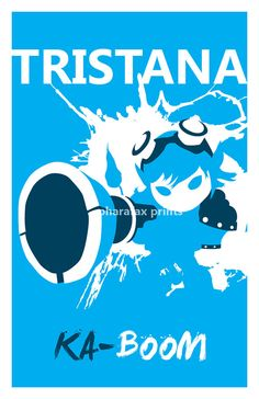 Tristana League of Legends Print by pharafax on Etsy, $16.00
