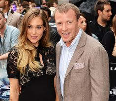 The big day! Jacqui Ainsley and Guy Ritchie (pictured in 2012) tied the knot in a lavish c...