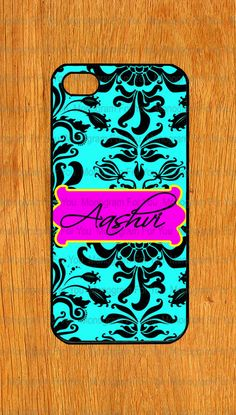 Flower monogram Iphone 5 Case