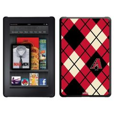 Arizona Diamondbacks - Argyle design on a Black Thinshield Case for Amazon Kindle Fire by Coveroo. $39.95. This hard shell polycarbonate case offers a slim fit form factor, while covering the back and sides of your Kindle Fire