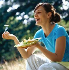 "That last pin reminded me of this ""women laughing alone with salad"" post that's a classic at this point."