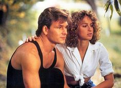 Patrick Swayze and Jennifer Grey in Dirty Dancing Iconic Movies, Old Movies, Vintage Movies, Jennifer Grey, Patrick Swayze, Movie Couples, Cute Couples, Mode Old School, Workout Cardio
