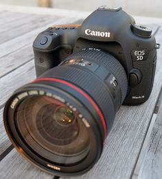 Canon 5D III - $4,299.00    Only slightly out of my price range right now.