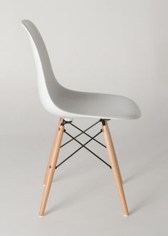 Milano Republic Furniture - Replica Charles Eames DSW Dining Chair - plastic, black steel, natural timber legs - various colours, $55.00 (http://www.milanorepublicfurniture.com.au/replica-charles-eames-dsw-dining-chair-plastic-black-steel-natural-timber-legs-various-colours/)