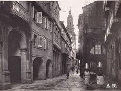 Rúa do Vilar. - Santiago de Compostela.