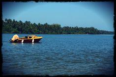 That Yellow Boat !! (Tarkali Beach, Konkan)