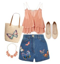 Designer Clothes, Shoes & Bags for Women Valentino, Butterfly, Shoe Bag, Polyvore, Stuff To Buy, Shopping, Collection, Shoes, Design