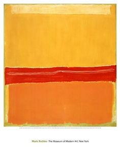 Number 5 (Number 22), Art Print by Mark Rothko