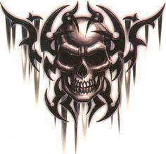 Skull & Skeleton Temporary Tattoos