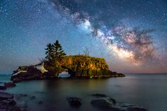 The Galactic Core Of Hollow Rock